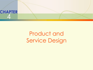 Chap004-005_Pro&Serv. Design and Capacity Planning