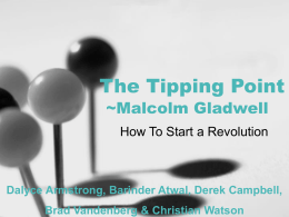 Tipping Point Presentation