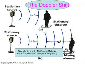 The Doppler Shift - MIT Haystack Observatory