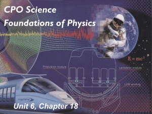 Chapter 18 Wave Properties of Light