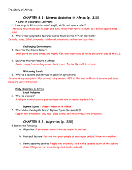 Microsoft Word - Story of Africa Reading Guide.doc