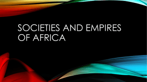 Societies and Empires of Africa
