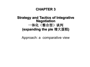 1 Strategy and Tactics