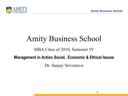 Amity Business School