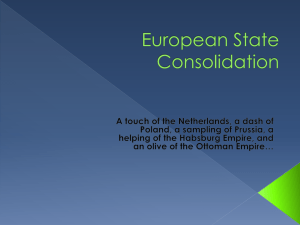 European State Consolidation