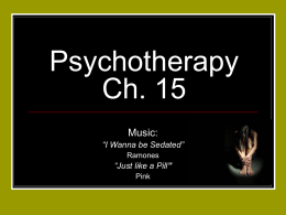 Psychotherapy 2011