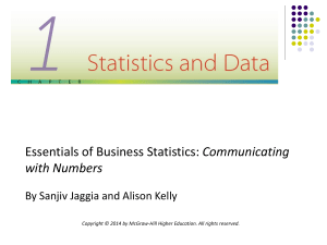 LO 1.1 Describe the importance of statistics.