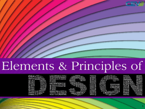 Principles & Elements of Design Pt. 1