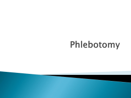 Phlebotomy - Effingham County Schools