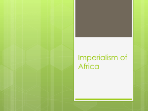 Imperialism of Africa