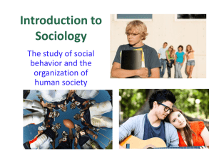 Intro to Sociology - Henry County Schools