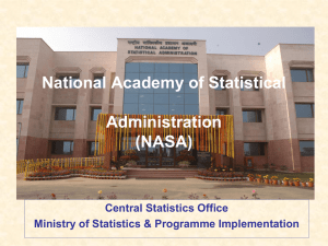 National Academy of Statistical Administration (NASA)