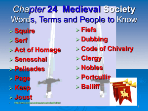 chapter 24 feudal society 700 ad-1200 ad