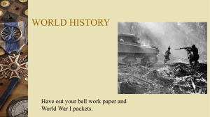 World History - Sarasota Military Academy