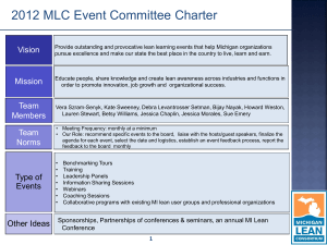 Read more here... - Michigan Lean Consortium