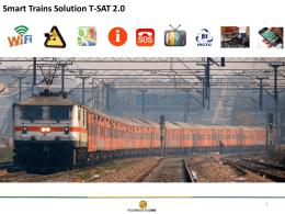 Smart Trains Solution T