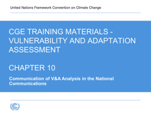 UNFCCC Training Materials_Communication