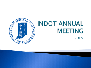 INDOT ANNUAL MEETING