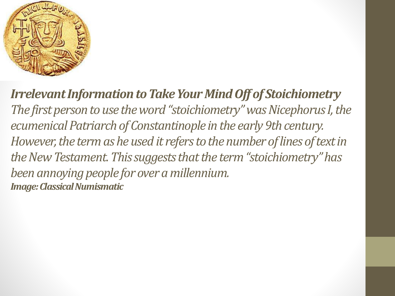 Exercise 11 Stoichiometry 1 Answer Key
