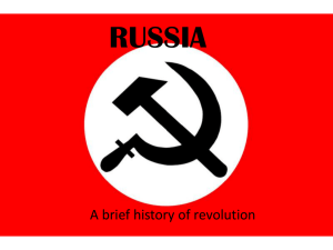 Russian Revolution Basics RussiaPPT