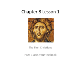Chapter 8 Lesson 1