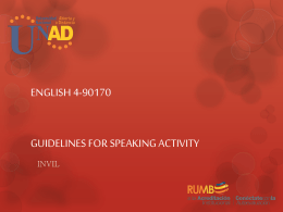 ENGLISH 0 SPEAKING ACTIVITY GROUPS 661 TO 699