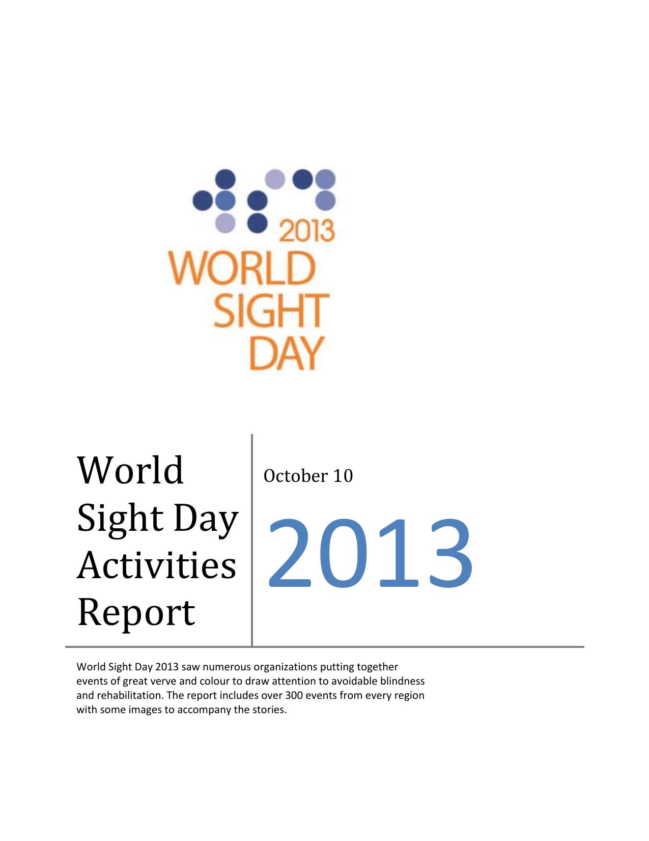 5fd086cbc92060 WSD13 Activities Report (Word)