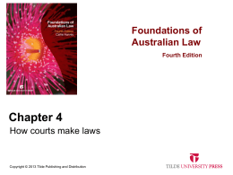 FDNLaw4e_slides_ch04 - Tilde Publishing and Distribution
