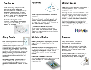Project Types Cards