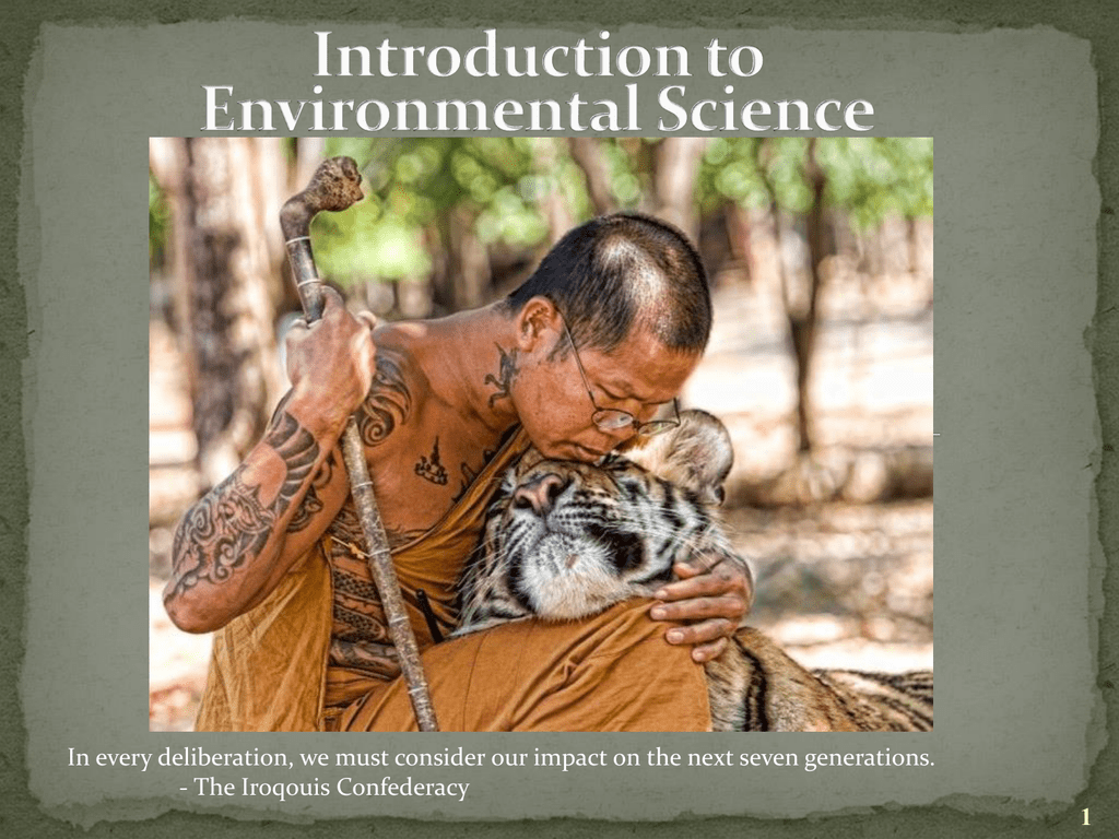 Ppt introduction to environmental science powerpoint.
