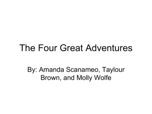 The Four Great Adventures