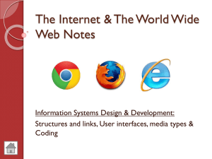 N5 The Internet & Web Theory Notes
