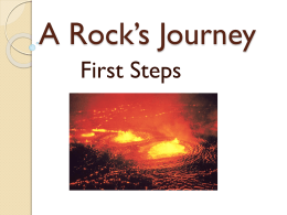 A Rock*s Journey