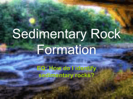 Sedimentary Rock Formation