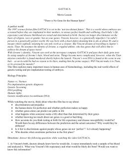 gattaca summary and analysis