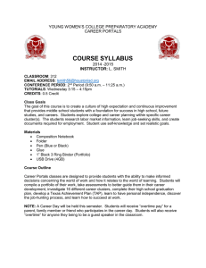 course syllabus - Houston Independent School District