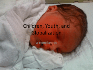Children, Youth, and Globalization