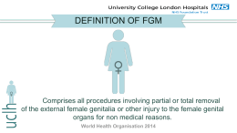 UCLH Presentation on FGM PPT, 4.26 MB
