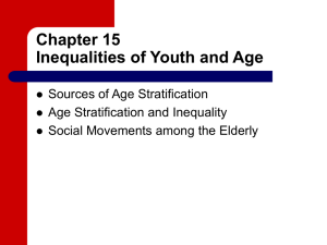 Chapter 15 Inequalities of Youth and Age