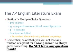 AP English Language Exam