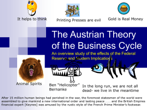 The Austrian Theory of Economics