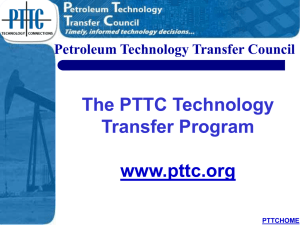 About PTTC - Drilling Engineering Association