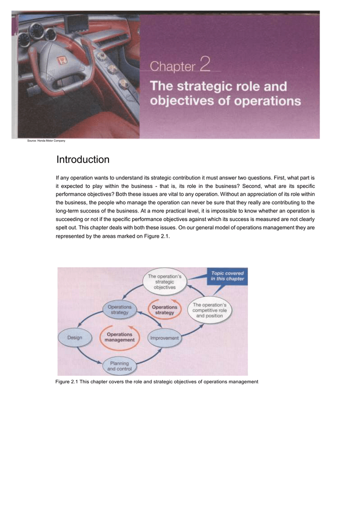 operational objectives at the penang mutiara case study answers
