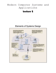 Design the System Interfaces