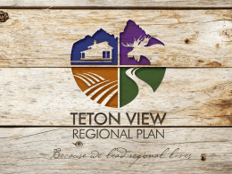 HUD Grant Overview - Made In Teton Valley