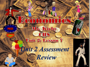 Lesson 7: Unit 2 Assessment Review