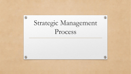 Strategic Planning (2)