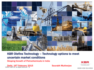 Olefins Technology solutions to meet changing market demands