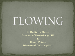 flowing - School Of Communication