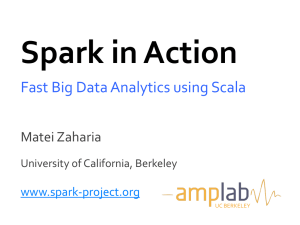 spark_scala_days_2012 - University of California, Berkeley